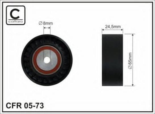 CAFFARO 0573 Паразитный ролик