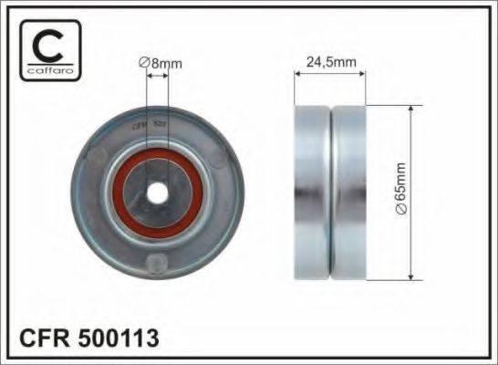 CAFFARO 500113 Паразитный ролик