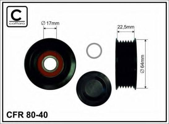 CAFFARO 8040 Паразитный ролик