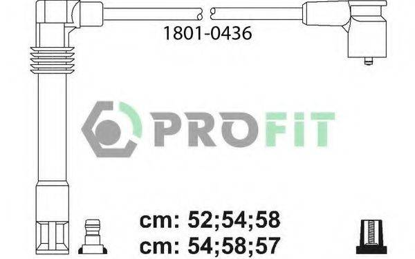 PROFIT 18010436 Провода зажигания