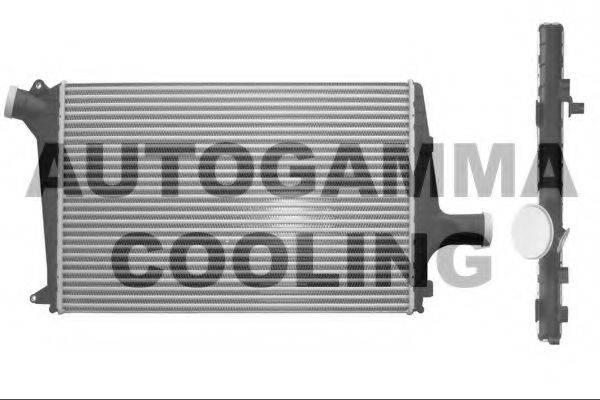 AUTOGAMMA 101859 Охладитель наддувочного воздуха