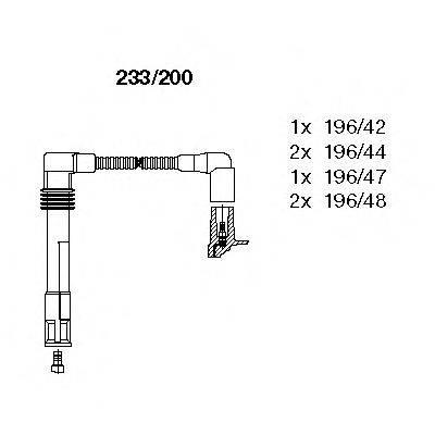 BREMI 233200 Провода зажигания