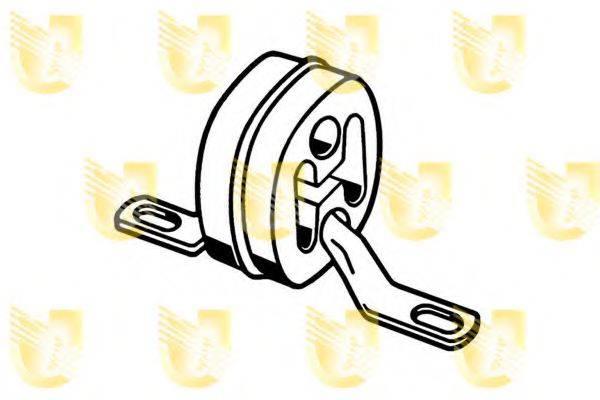 UNIGOM 165156 Резиновые полоски, система выпуска