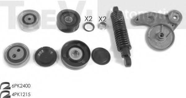 TREVI AUTOMOTIVE KA1101 Поликлиновой ременный комплект