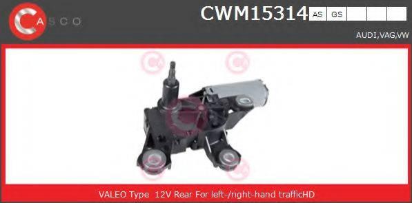 CASCO CWM15314AS Моторчик стеклоочистителя