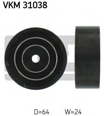 SKF VKM31038 Паразитный ролик