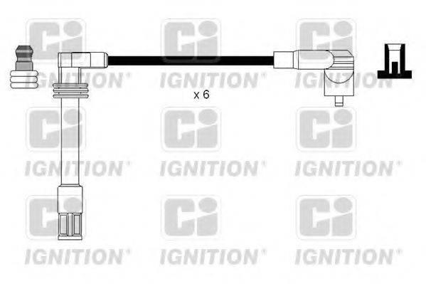 QUINTON HAZELL XC1122 Провода зажигания
