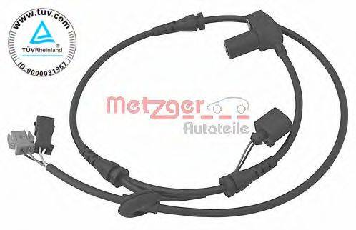 METZGER 0900084 Датчик ABS