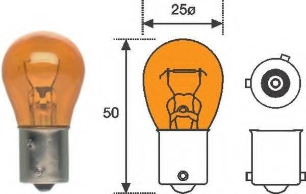 MAGNETI MARELLI 008507100000 Лампа накаливания, фонарь указателя поворота; Лампа накаливания